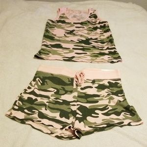 Tank and shorts PJ set - new with tags
